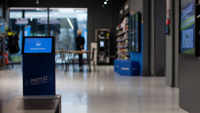 Nanovo produces the software for smart display screens for retailers such as CCC, Poland's biggest shoemaker.