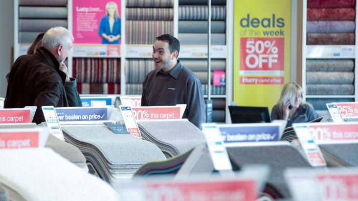 Carpetright warned that its profits would all but disappear this year © Bloomberg