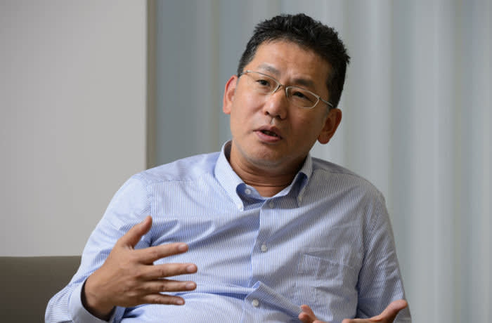 Kinya Seto, president and chief executive officer of Lixil Group Corp., speaks during an interview in Tokyo, Japan, on Monday, Aug. 22, 2016. Photographer: Akio Kon/Bloomberg