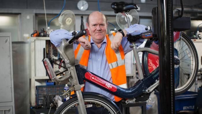 WAC Monday Interview - Rupert Soames, Serco Cycle Hire Scheme depot - 15 Penton Street