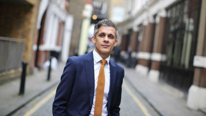 UNITED KINGDOM, London: 03 October 2019 Kieron Boyle, head of urban health organisation Guys and St Thomas Charity, poses for a picture outside their offices in London Bridge earlier this afternoon.
