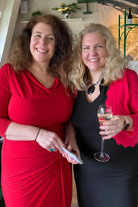 Ruth and Gillian Hobbs. The pair recently founded Urban Sister, a property developer specialising in converting unused and unloved city-centre buildings into luxury living accommodation for students.