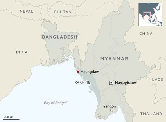 Myanmar builds repatriation camps devoid of Rohingya returnees