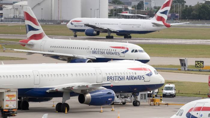 British Airways threatens to strip pilot perks in strike row