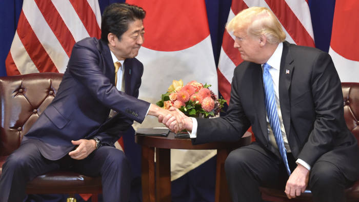 Donald Trump blasts US-Japan defence alliance as lopsided | Financial Times