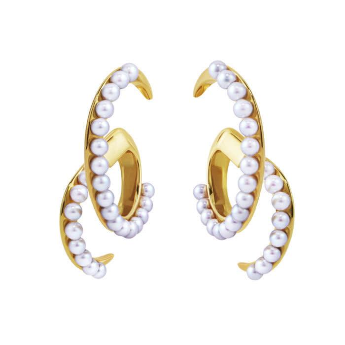 Tasaki Atelier Surge earrings, £8,760, tasaki-global.com