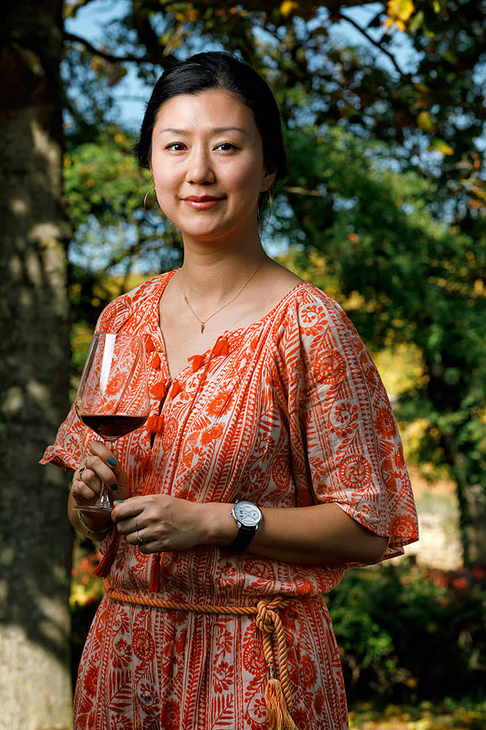 Rich experience: Student Icy Liu has worked in wine distribution, auctions and retail
