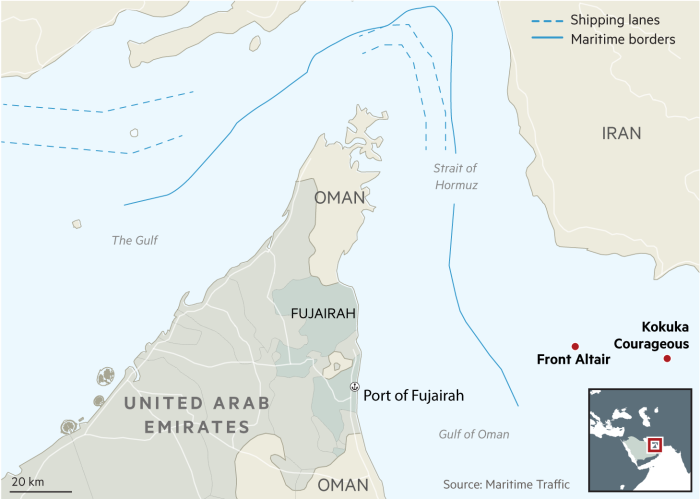 US blames Iran for Gulf of Oman tanker attack | Financial Times