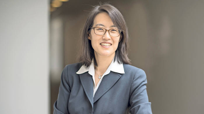 Ellen Pao, former venture capitalist at Keiner Perkins Caufield and Byers and former interim chief executive officer of Reddit, stands for a photograph after a Bloomberg West television interview in Oakland, California, U.S., on Tuesday, May 3, 2016. Pao, who helped shine a light on gender-discrimination issues in Silicon Valley with her lawsuit against a top venture capital firm, unveiled an advocacy group that focuses on diversity in the technology industry. Project Include, which Pao helped start with other female technology leaders, will publish advice for companies to improve their inclusion initiatives. Photographer: David Paul Morris/Bloomberg