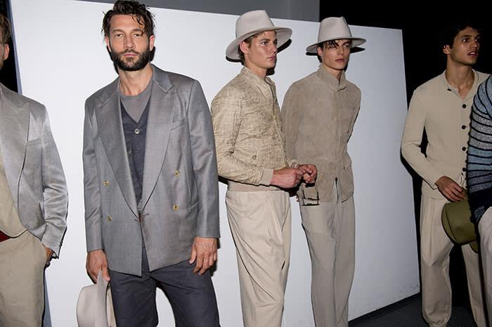 Fashion, Style, SS19, Armani