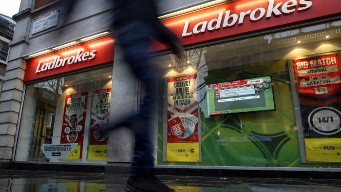 Ladbrokes owner GVC looks to US for growth | Financial Times