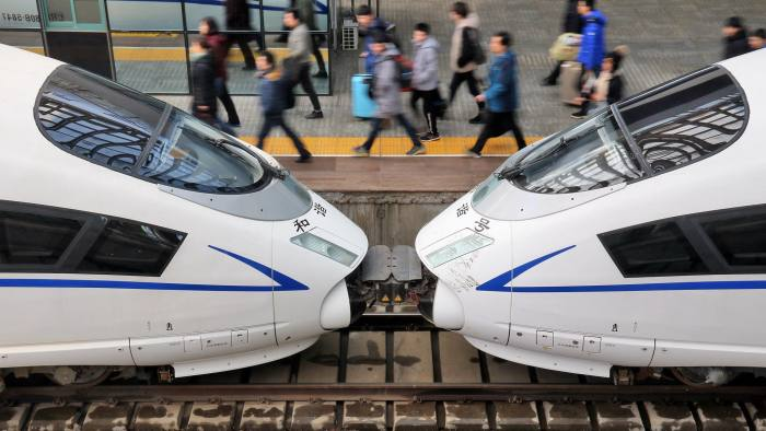China steps up fiscal spending as it approves $125bn of rail