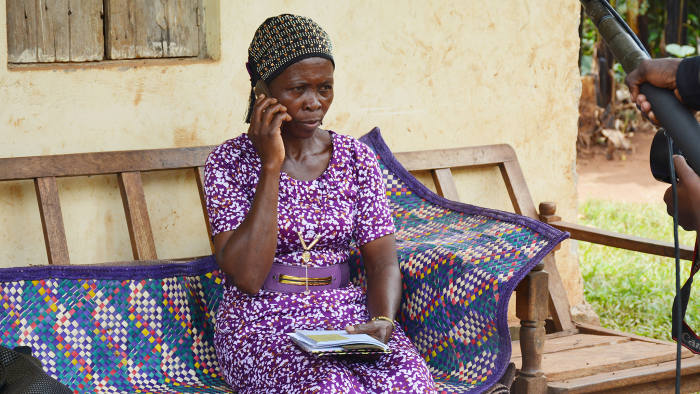 Lifeline: Patients in Uganda receive daily calls to ensure they have taken their medication