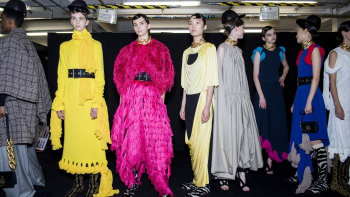 London Fashion Week Round Up Designers Pay Tribute To Karl Lagerfeld Financial Times