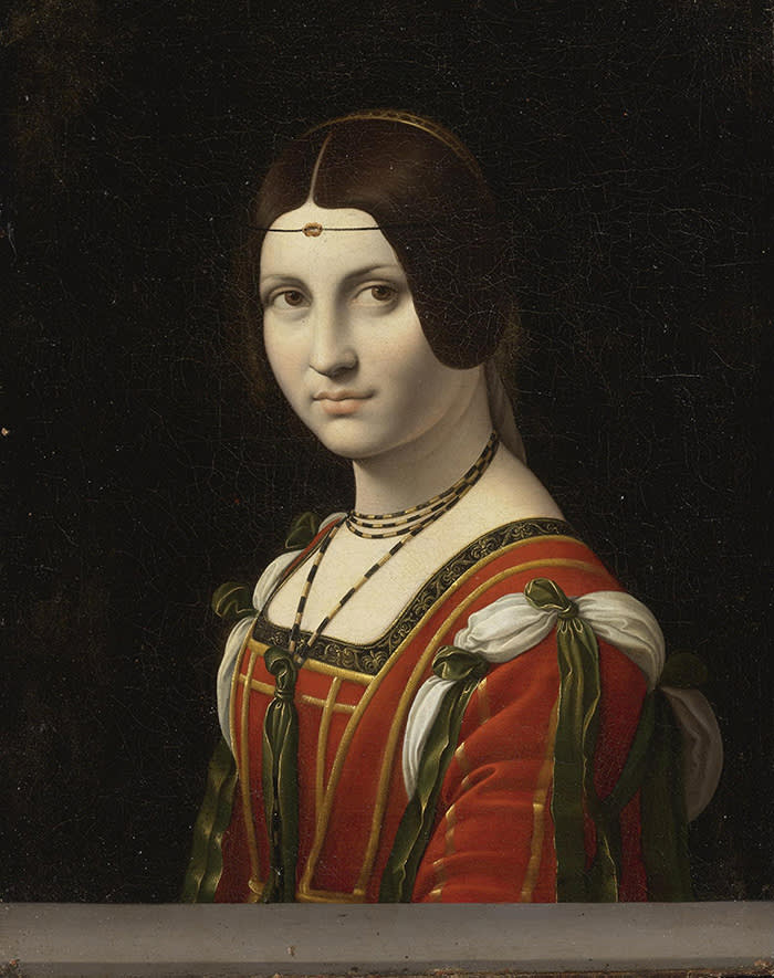 Portrait of an Unknown Woman, called La Belle Ferronnière, before 1750. Private Collection. (Photo by Fine Art Images/Heritage Images/Getty Images)