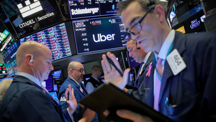 Uber extends slide on second day of trading | Financial Times