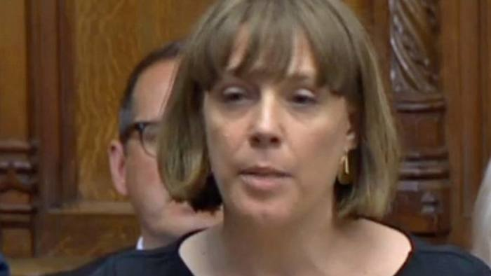 Labour MP Jess Phillips (Birmingham Yardley) speaking in the House of Commons in London when she raised concerns about Prime Minister Boris Johnson's language in the Commons during Wednesday's heated exchanges. PA Photo. Picture date: Thursday September 26, 2019. See PA story POLITICS Brexit. Photo credit should read: House of Commons/PA Wire