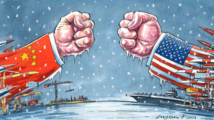 Trade is just an opening shot in a wider US-China conflict ...