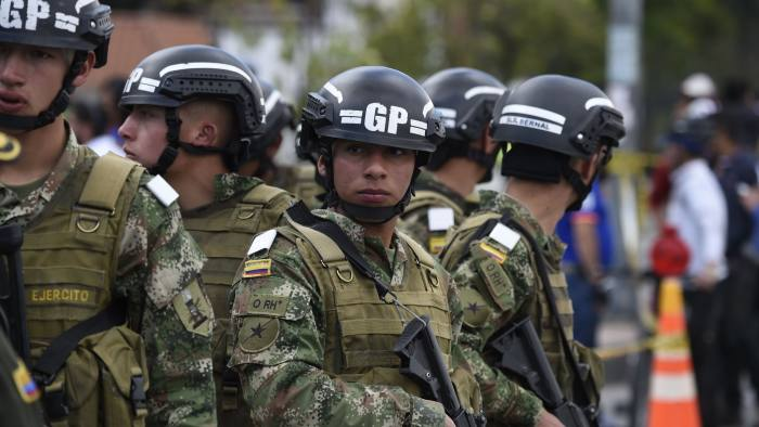 Death toll from Colombia car bomb climbs to 21 | Financial Times