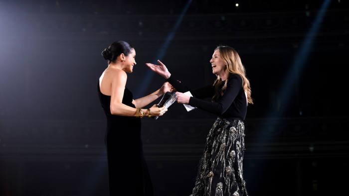 Fashion Awards 2018 Valentino S Pierpaolo Piccioli Takes Designer Of The Year Financial Times