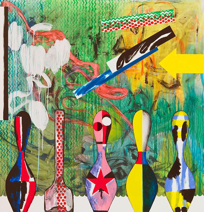 Charline von Heyl's 'Plato's Pharmacy' (2015)