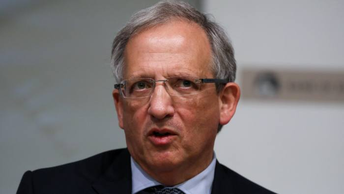 Jon Cunliffe, deputy governor for financial stability at the Bank of England (BOE), speaks during a news conference presenting the bank's Financial Stability Report in London, U.K., on Tuesday, June 27, 2017. The Bank of England plans to increase capital requirements for U.K. lenders by 11.4 billon pounds to tackle risks posed by consumer credit growth and prepare for the uncertain outcome of Brexit talks. Photographer: Chris Ratcliffe/Bloomberg