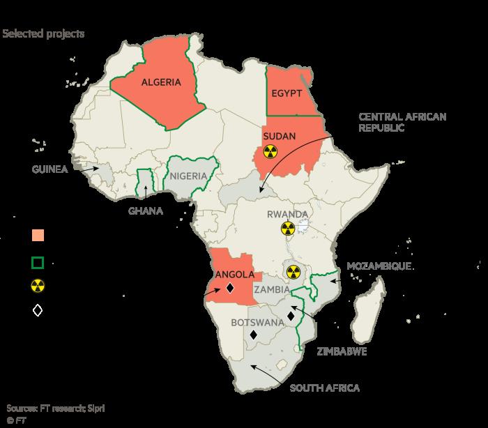 Russia: Vladimir Putin\'s pivot to Africa | Financial Times