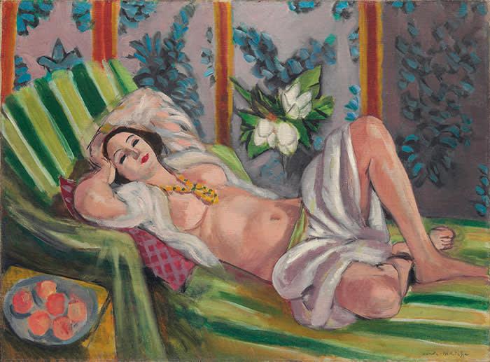 Henri Matisse's 'Odalisque couchée aux magnolias' (1923)