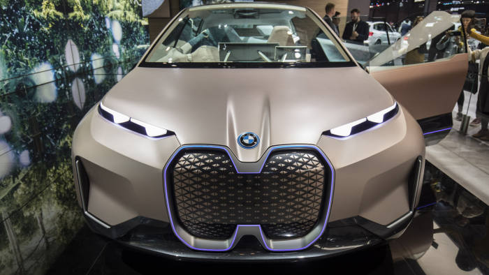 BMW accelerates rollout of electric cars to catch up with rivals