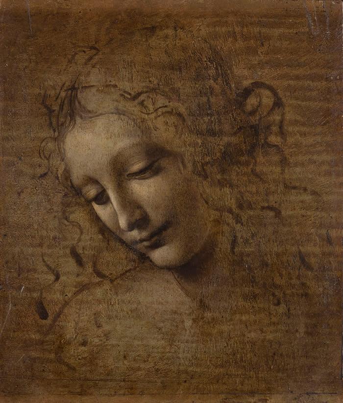 The Head of a Woman, also known as 'La Scapigliata' (c1501-10)