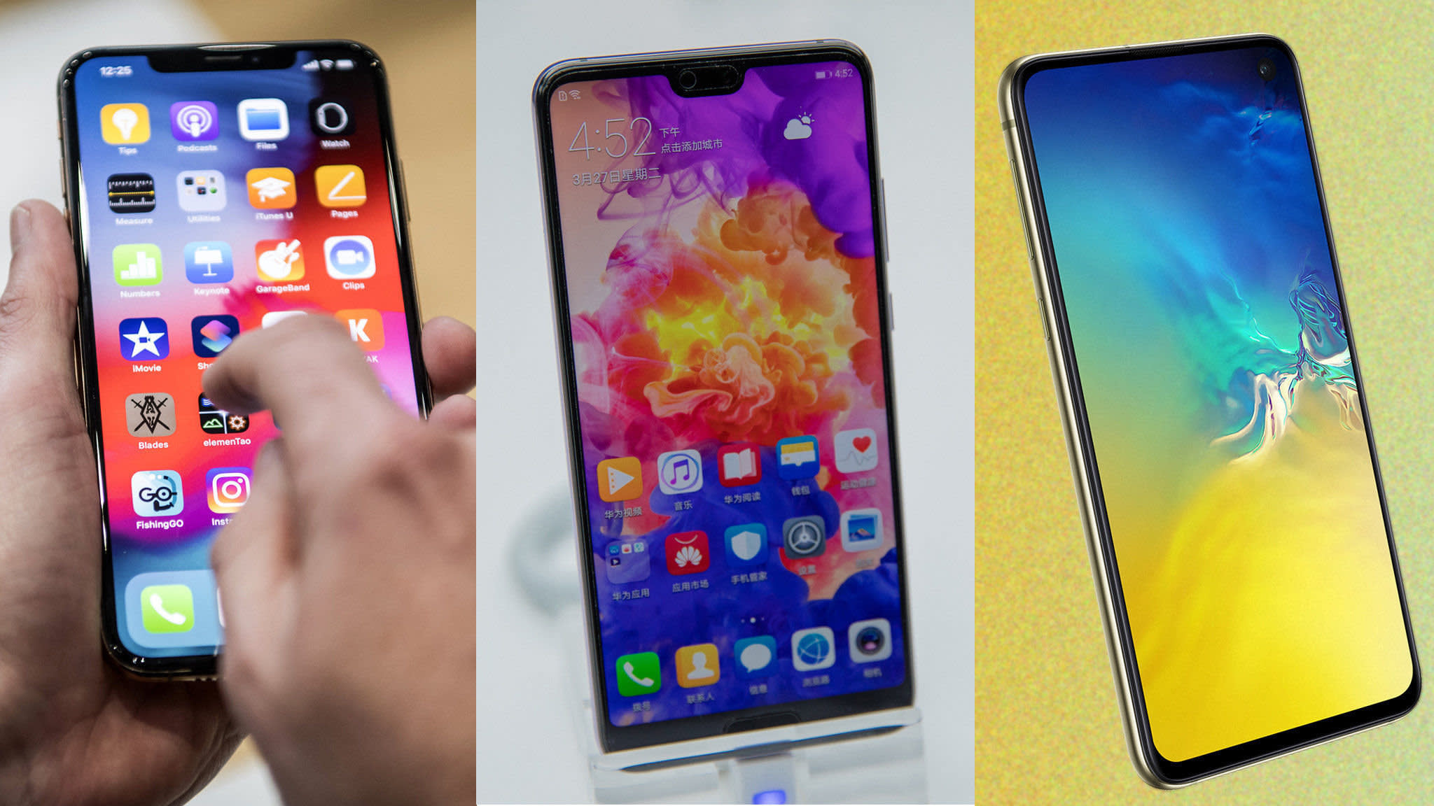 Samsung takes on rivals Apple and Huawei with Galaxy S10 launch | Financial Times