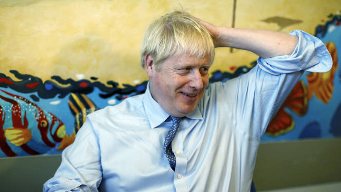 Prime Minister Boris Johnson said he was 'very confident' that the government would be ready for departure from the EU on October 31