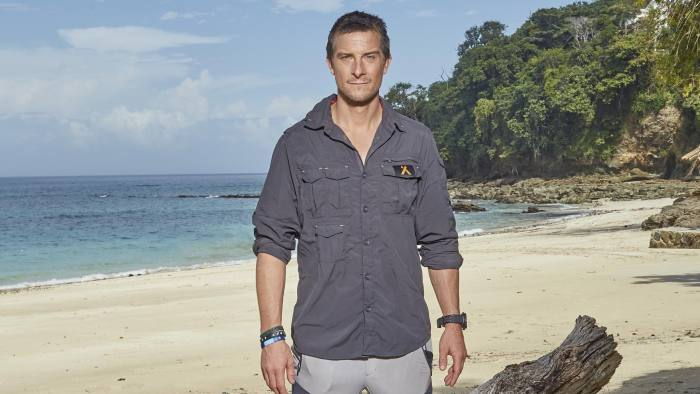 Bear Grylls puts survival skills of the wealthy to the test