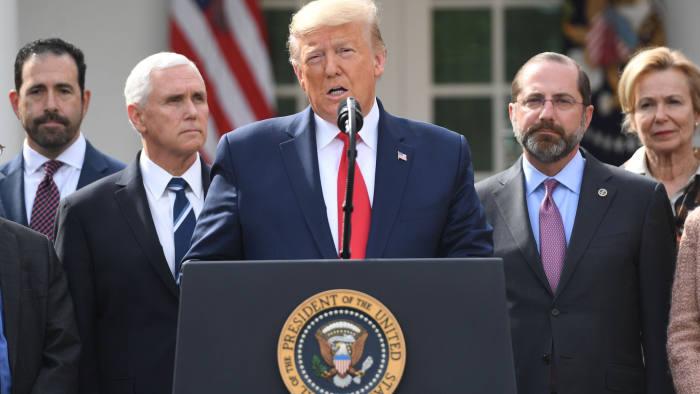 Donald Trump declares US national emergency for coronavirus | Financial  Times