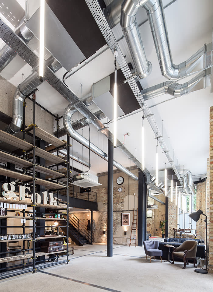 Analog Folk fit-out and interiors by Design Haus Liberty, London pics supplied