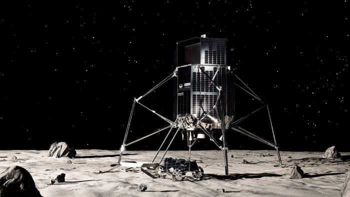 ispace 'Hakuto-R' lunar lander and rover