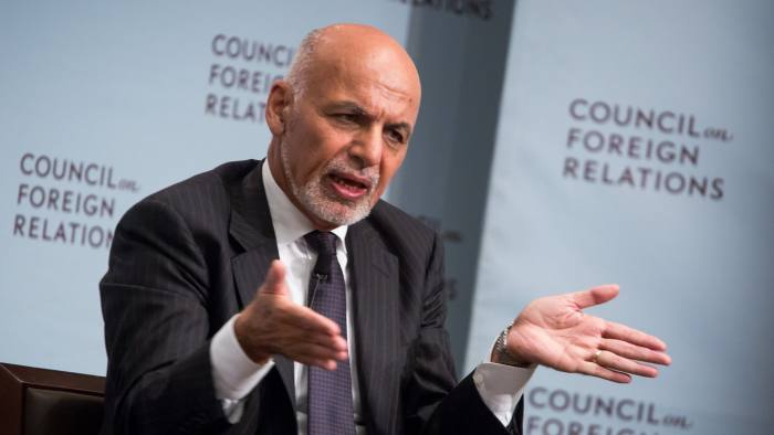 Ashraf Ghani has offered the militants a role in drafting a constitution
