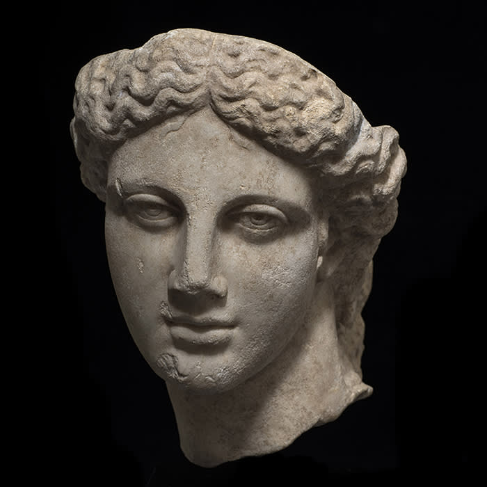 a Hellenic head at Charles Ede