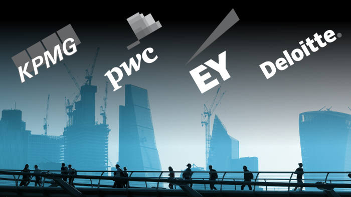Big Four accountancy firms plan for forced break-up | Financial Times