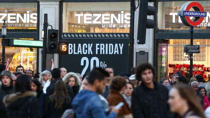 Uk Shoppers Buy Into The American Black Friday Tradition Financial Times