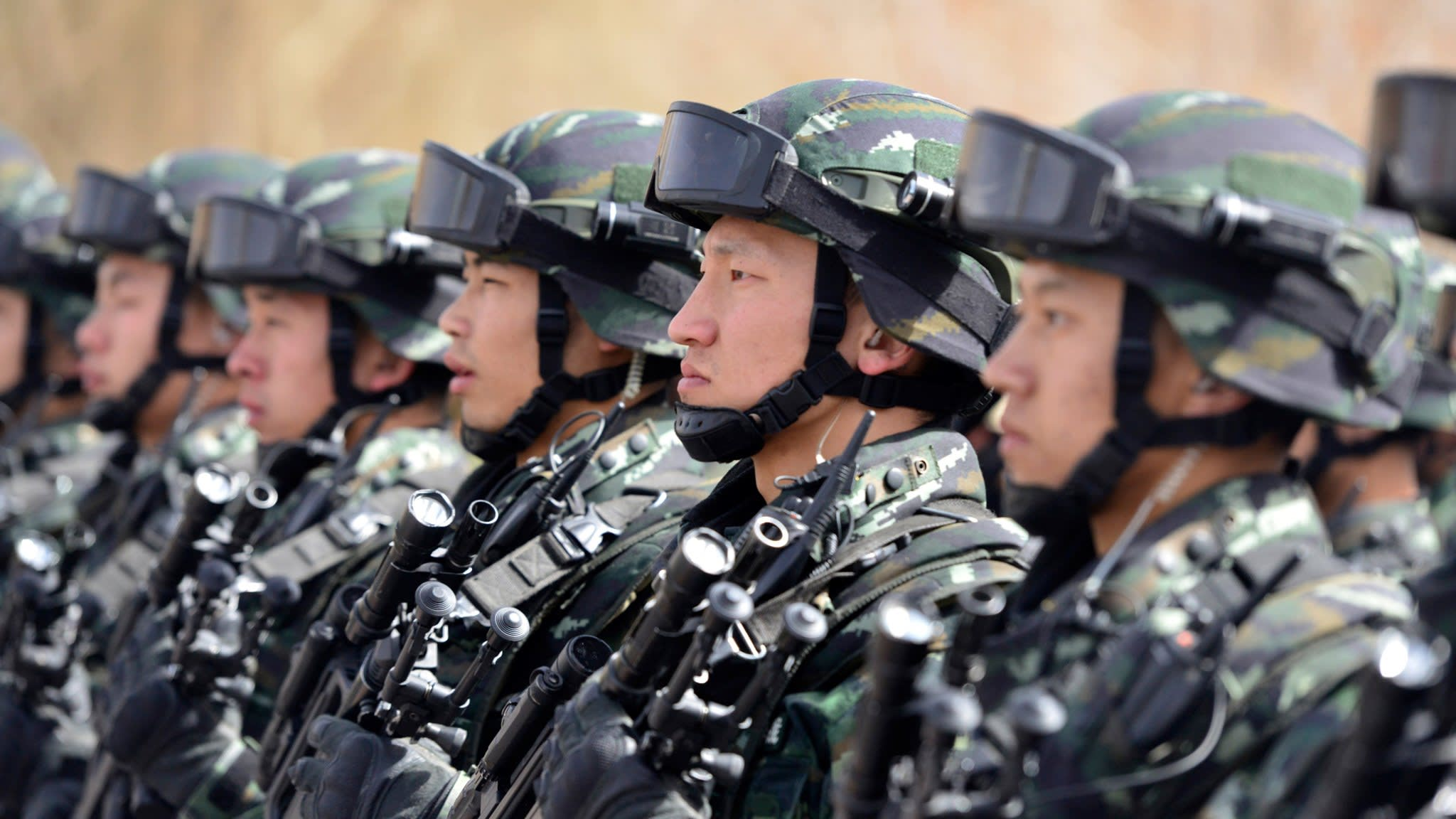 China seeks global role for elite counter-terrorism forces   Financial Times