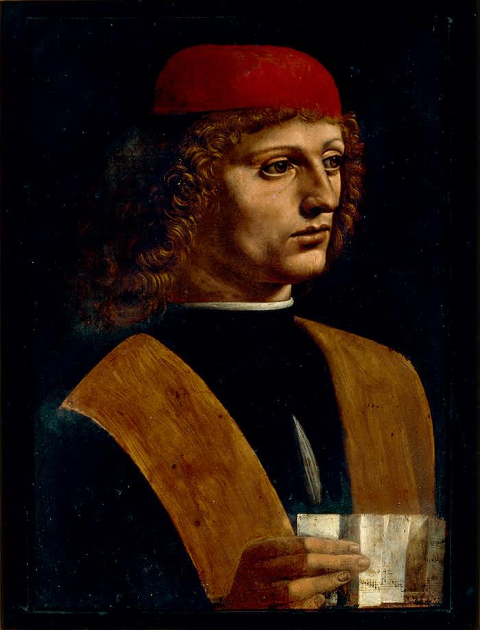 'Portrait of a Musician' (1485)