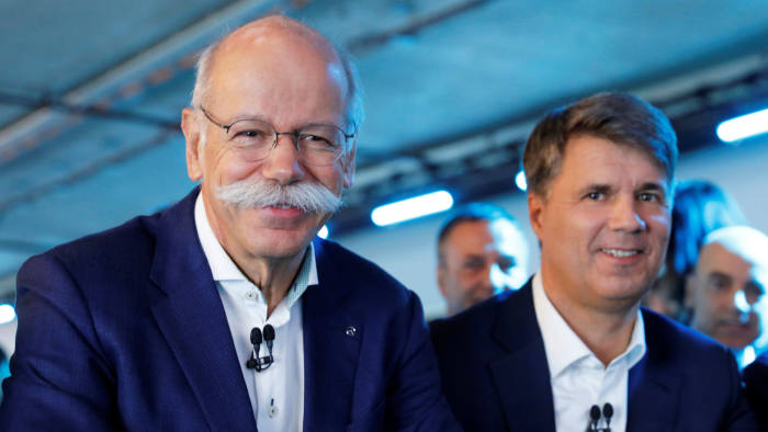 Bmw And Daimler To Invest 1bn In Mobility Joint Venture Financial