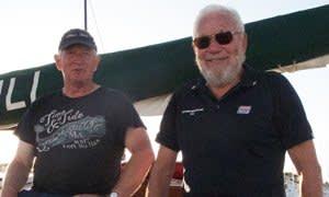 David Smith and Robin Knox-Johnston