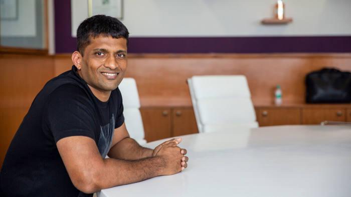 Former maths coach Byju Raveendran