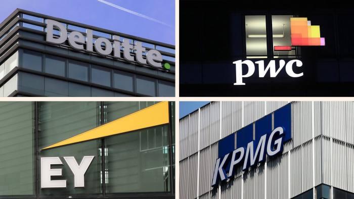 EY, PwC, Deloitte, KPMG Accountancy big four auditing