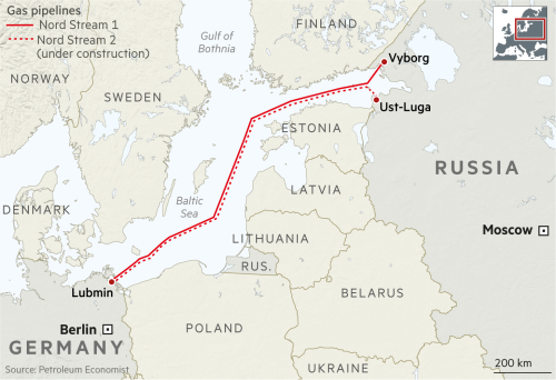 How Russian gas became Europe's most divisive commodity