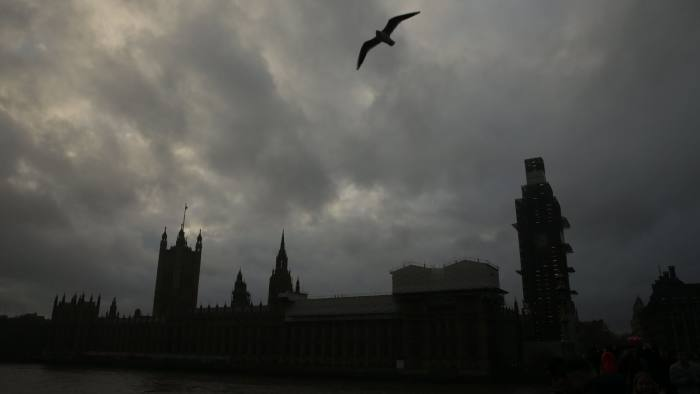 A gull flies by the river Thames backed by the silhouette of the Palace of Westminster that houses the Houses of Parliament in central London on January 26, 2019. - Despite the humiliating rejection of Prime Minister Theresa May's Brexit deal, Britain is no closer to knowing the end result of its vote to leave the European Union. A raft of amendments to be voted on by MPs on Tuesday threaten to further muddy the waters as the clock ticks down to Britain's scheduled departure from the EU on March 29. (Photo by Daniel LEAL-OLIVAS / AFP)DANIEL LEAL-OLIVAS/AFP/Getty Images