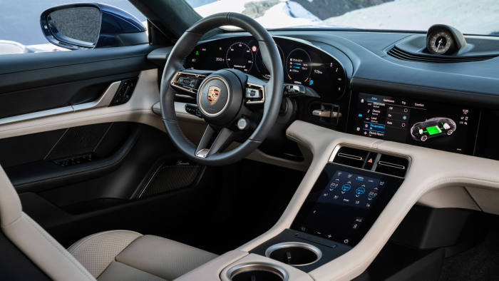 Porsche says the Taycan can accelerate to 200kph frequently without losing significant charge