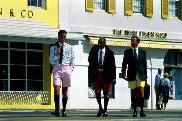Businessmen in Bermuda